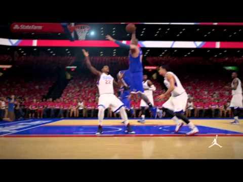 NBA 2K15 MyCareer Knicks vs 76ers Game 3
