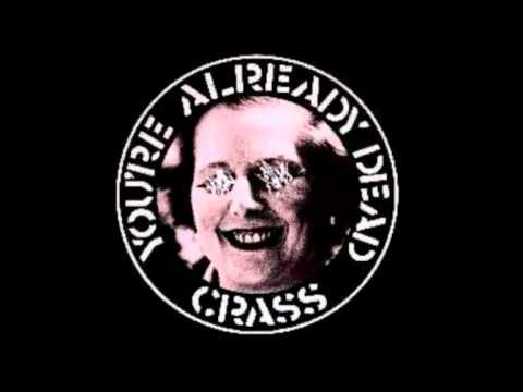 Crass - Youre Already Dead