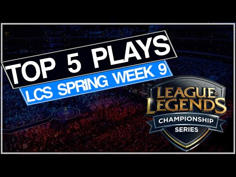 Top 5 LCS Plays Spring Week 9 feat. Fnatic Gravity Roccat SK Gaming