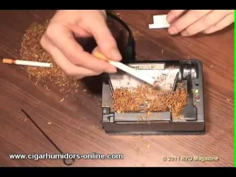 Powermatic II Electric Cigarette Rolling Machine - Spoon Cigarette Injector Maker 2 Zico