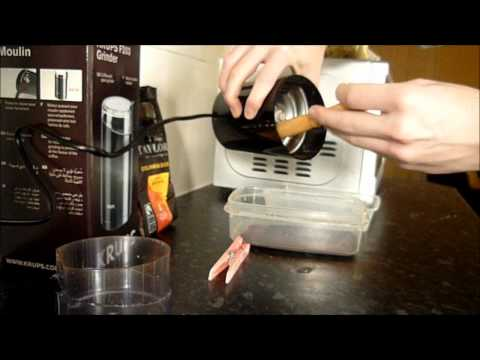 Krups Coffee Bean and Seed Grinder Video Review