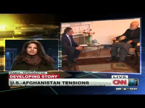 Karzai urges US pullback From Villages; Afghan Taliban suspend talks after massacre