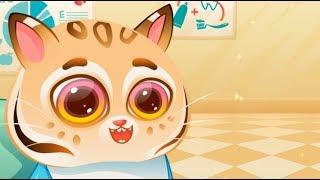 Bubbu My Virtual Pet Funny videos games song for kids fun little kitten gameplay