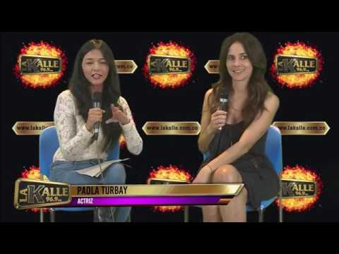 Paola Turbay en La Kalle contando sus secretos de su eterna juventud
