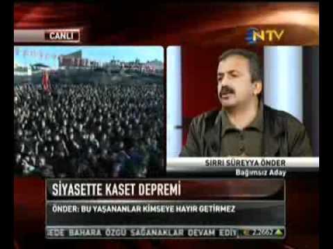 Sırrı Süreyya Önder'den 'Piskevit' Tepkisi
