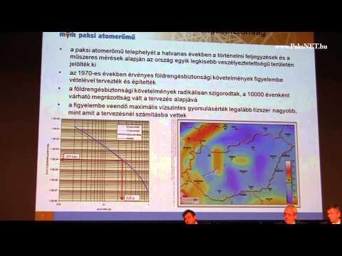 30 éves az I. blokk - Dr. Elter József előadása / Paks - 2012.12.14.