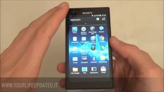 Recensione VideoRecensione Sony Xperia P Android Ice Cream Sandwich 4.0.4