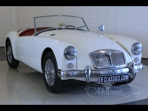 MG MGA Roadster 1959 -VIDEO- www.ERclassics.com