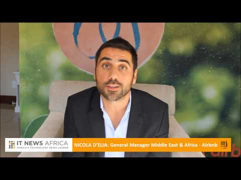 IT News Africa Interview: Nicola D'Elia - GM for Airbnb Middle East & Africa
