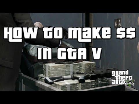 GTA V Ways to Make Money (GTA 5)