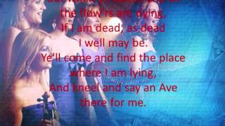 Celtic Woman - Danny Boy With Lyrics