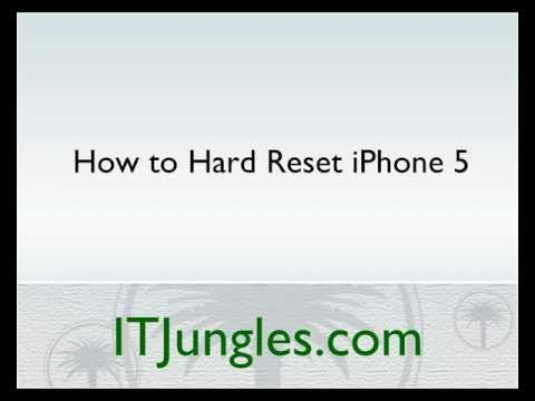 iPhone 5: How to Hard Reset (3 Ways)