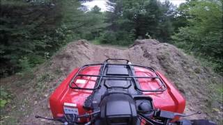 Solo ATV Ride Through The Bush!  (GoPro Cyclops Mount, 2015 Honda TRX420)