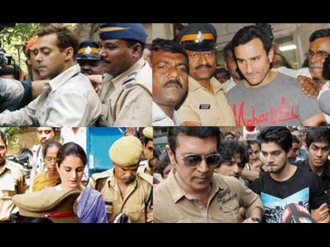 Bollywood Actor & Actress Who Landed In Legal Trouble | Salman, Sanjay Dutt, Saif, Madhur Bhandarkar