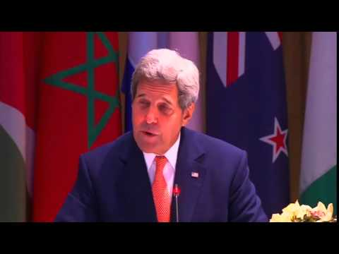 Secretary Kerry Delivers Remarks at the Global Counterterrorism Forum