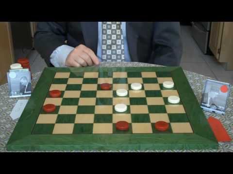 INTERNATIONAL DRAUGHTS + CHECKERS WISWELL  V FRASER
