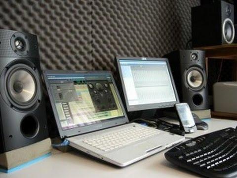 Estudio de grabación casero básico -  Recording Studio