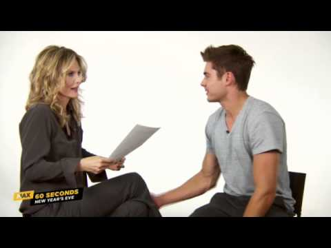 Max 60 Seconds: Zac Efron (New Years Eve)