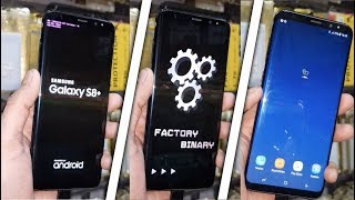 S8 Plus Remove FRP Account with Combination File G950f, G950u, G955u, G955f
