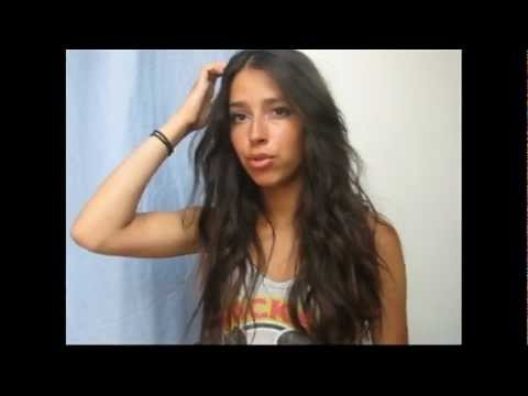 "Selena Gomez ""Round and Round"" Music Video HD Inspired Hair Tutorial Waves/"