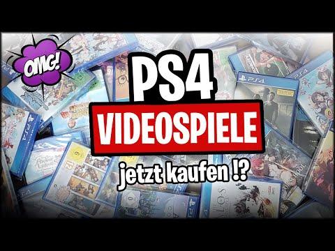 PS4 Spiele JETZT (noch) günstig für die Sammlung kaufen