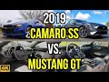 ULTIMATE V8 MUSCLE -- 2019 Chevy Camaro SS vs. 2019 Ford Mustang GT: Comparison