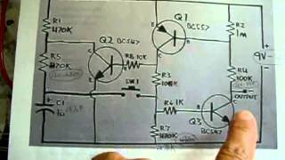 Latching ON/OFF Transistor Circuit