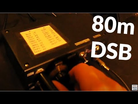 QRP DSB on 80 metres