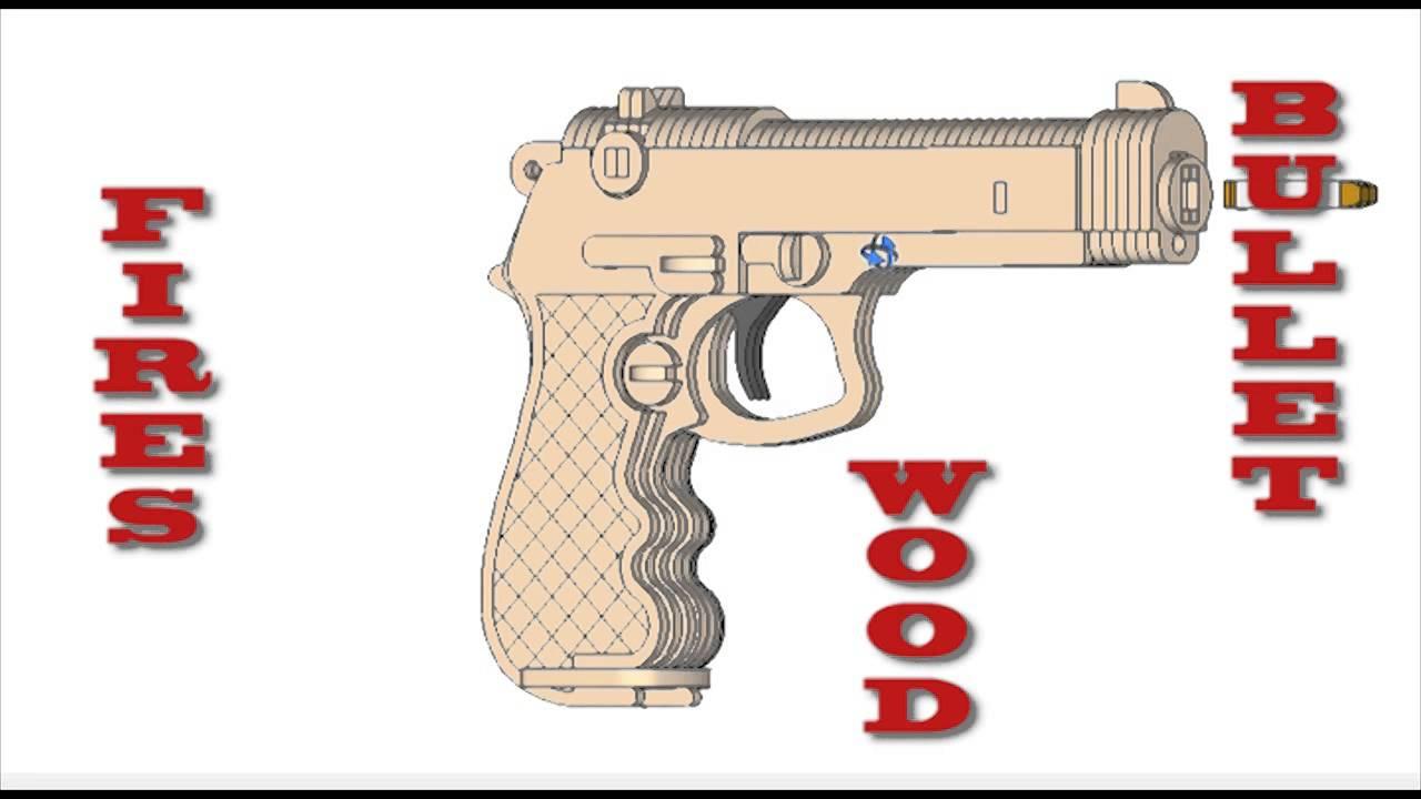 free rubber band gun plans