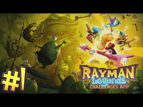 Rayman Legends: Challenges App - Part 1