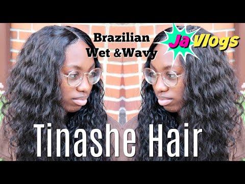 HOW I DO A SEW IN FT. TINASHE HAIR | BRAZILIAN WET & WAVY | Hair Tutorials | JaVlogs