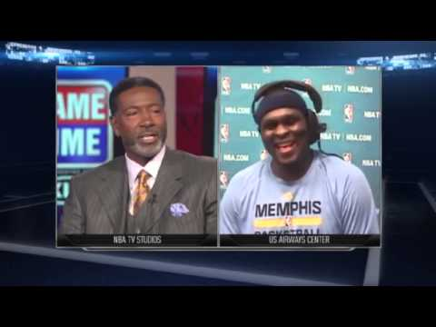 Zach Randolph Postgame | Memphis Grizzlies vs Phoenix Suns | January 2, 2014 | NBA 2013-14 Season