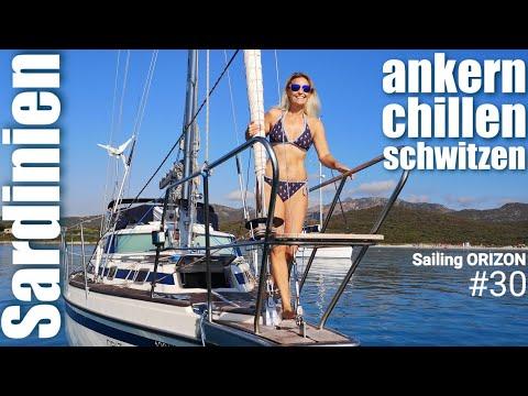 Sailing ORIZON #30 Sardinien - ankern - chillen - schwitzen