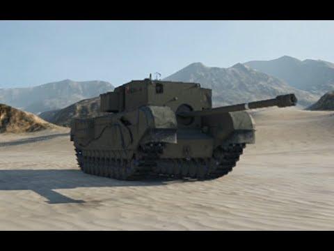 World Of Tanks | Великобритания - ПТ-САУ | Churchill GC | Последний бой он классный самый