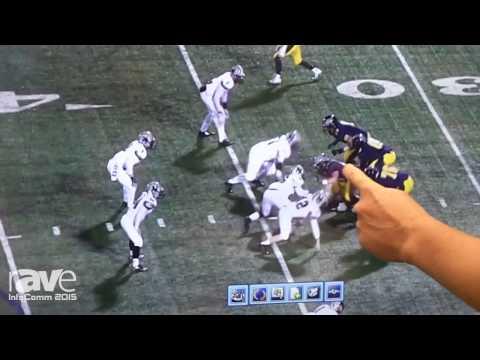 InfoComm 2015:  Newline-Interactive Demos TruEdge Sports Package