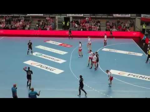 Piłka Ręczna - POLSKA - CZARNOGÓRA 28:26 - Skrót Meczu - Zielona Góra - 28.11.2015