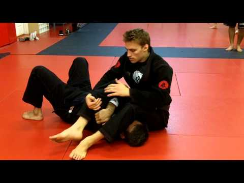 Jiu Jitsu Techniques - Armbar / Omoplata transition  With Clark Gracie Image 1