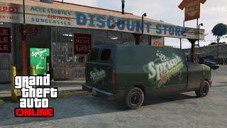 GTA 5 Online - How to Find the Sprunk Van (Brute Pony)