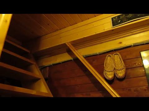"""Утепляем дом.СУПЕРконструкция для крышки люка на 2й этаж.Открывается """"одним пальцем""""!!!"""