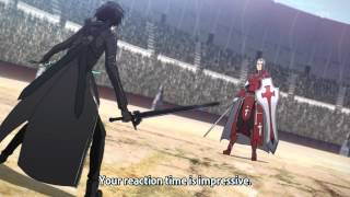 Sword Art Online [Kirito vs. Heathcliff - Dual Blades vs. Holy Sword] HD.mkv