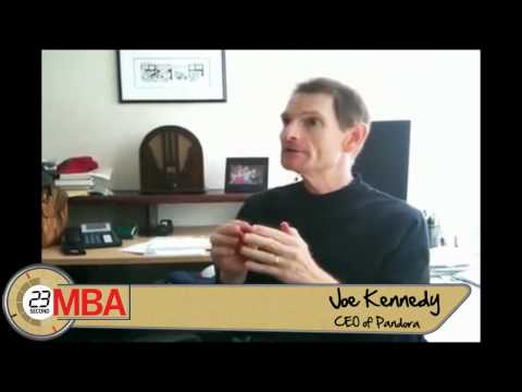 30 Second MBA - Joe Kennedy, Pandora