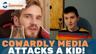 Media Blasts CHILD For Supporting PewDiePie After He Exposes Them!