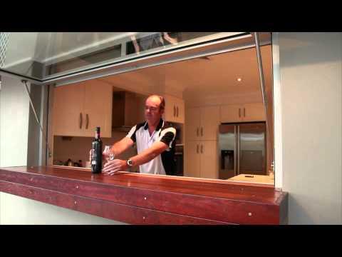 Kitchen Servery Window Youtube