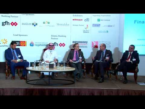 Youssef Alaoui speaking at Euromoney GCC Finance Forum in Bahrain, February 2015