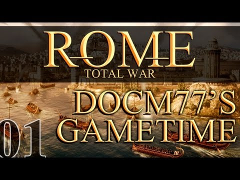 Docm77´s Gametime - Rome: Total War #1 - Rise of the Brutii