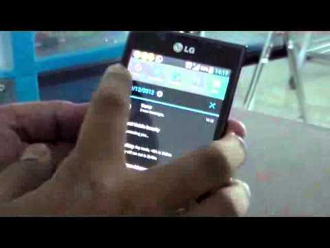 ANGGA   Review LG Optimus L7