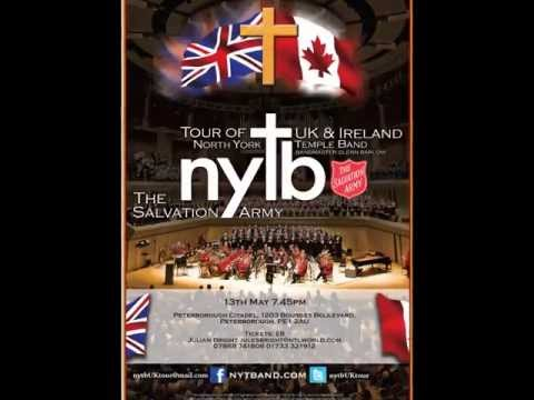 North York Temple Band [Canada] of The Salvation Army to visit Peterborough Citadel [UK]
