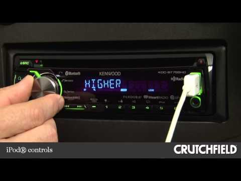 Kenwood KDC-BT755HD Car Receiver Display and Controls Demo | Crutchfield Video