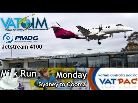 It's Milkrun Monday! Every Monday for the last 3 or more years, VATPAC has been running a regular flyin where Sydney airport, Melbourne airport, and the airspace between is opened up for 3...