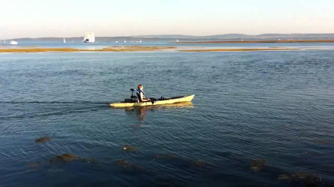 Diy Electric Trolling Motor Ocean Kayak Trident 13 Youtube